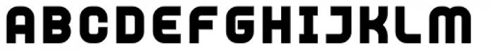 YWFT Unisect Black Font UPPERCASE