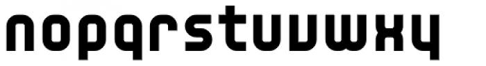 YWFT Unisect Black Font LOWERCASE
