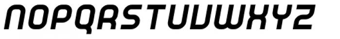 YWFT Unisect ExtraBold Oblique Font UPPERCASE