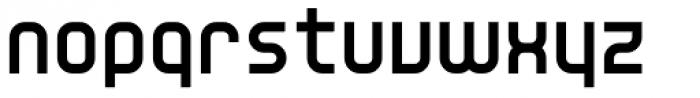 YWFT Unisect ExtraBold Font LOWERCASE