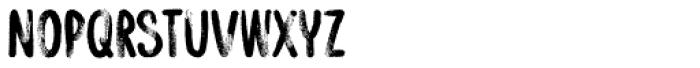 YWFT Watermelon B Font UPPERCASE