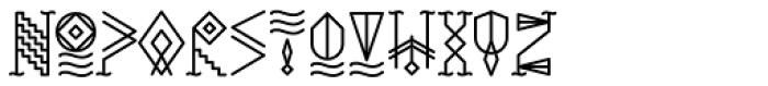 YWFT Whisky Alternate Font LOWERCASE