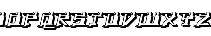 Yytrium Dioxide Font UPPERCASE