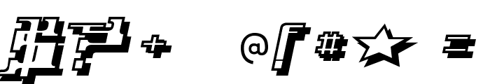 Yytrium Font OTHER CHARS