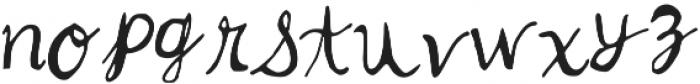 z ttf (400) Font LOWERCASE
