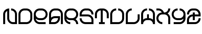 Z_exMastang Font UPPERCASE