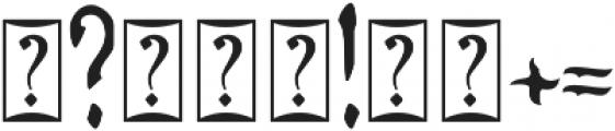 ZAMRUDS otf (400) Font OTHER CHARS