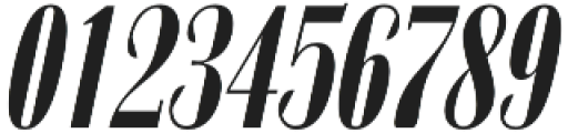 Zabatana Poster Poster Compressed Italic otf (400) Font OTHER CHARS