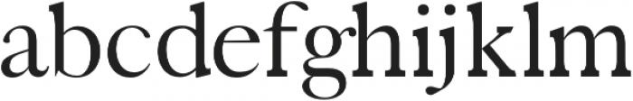 Zack Regular otf (400) Font LOWERCASE