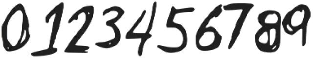 ZackScratch otf (400) Font OTHER CHARS