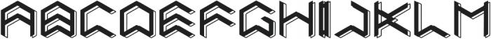 Zagarth Vol2 otf (400) Font UPPERCASE