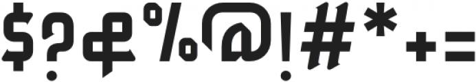 Zahey otf (400) Font OTHER CHARS