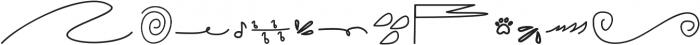 Zahira Doodles Regular otf (400) Font UPPERCASE