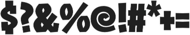 Zalamander otf (700) Font OTHER CHARS