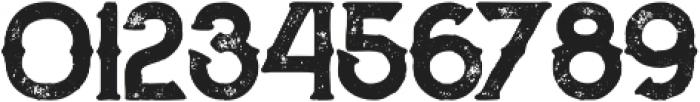 Zalora Bold Grunge otf (700) Font OTHER CHARS