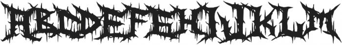 Zanaz otf (400) Font LOWERCASE