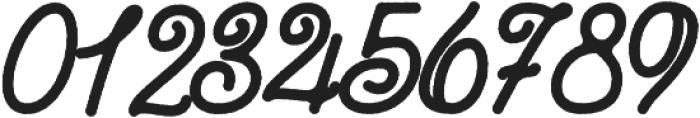Zara Elyse Super Texture Bold otf (700) Font OTHER CHARS