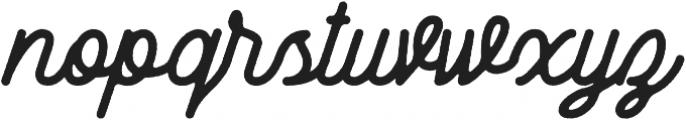 Zara Elyse Super Texture Bold otf (700) Font LOWERCASE