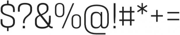Zawya Pro thin otf (100) Font OTHER CHARS