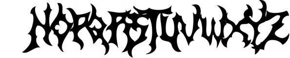 Zamruds - Tribal Font Font UPPERCASE