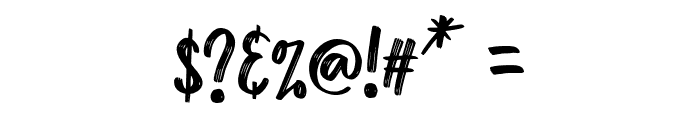 ZAMRACK Regular Font OTHER CHARS