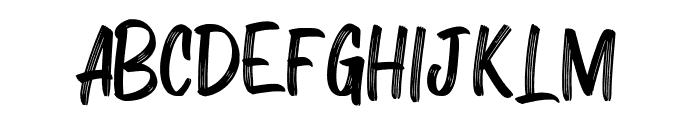 ZAMRACK Regular Font UPPERCASE