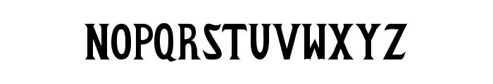 Zabdilus Bold Font UPPERCASE