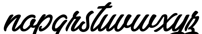Zabritzkyes Personal Use  Font LOWERCASE