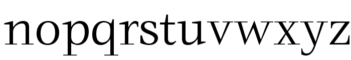 Zachery-Book Font LOWERCASE