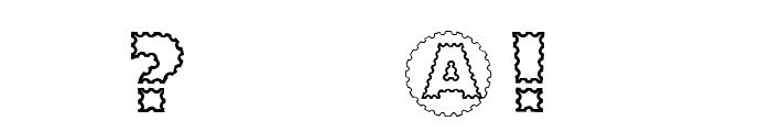 ZagzagCaps Font OTHER CHARS