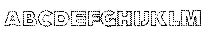 ZagzagCaps Font UPPERCASE