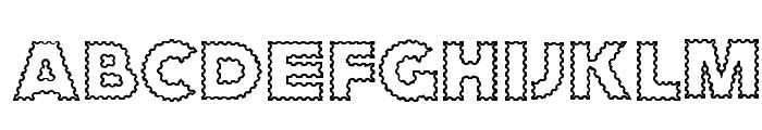 ZagzagCaps Font LOWERCASE