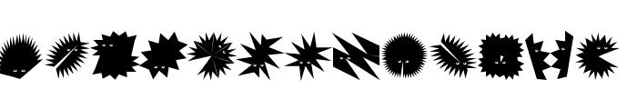 ZagzagHeads Font UPPERCASE