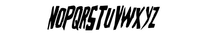 Zakenstein Condensed Italic Font LOWERCASE