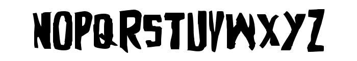 Zakenstein Expanded Font UPPERCASE