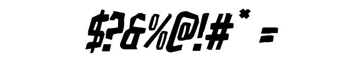 Zakenstein Italic Font OTHER CHARS