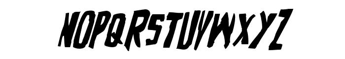 Zakenstein Italic Font UPPERCASE