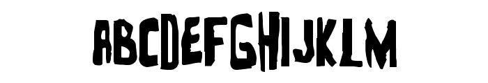 Zakenstein Regular Font UPPERCASE