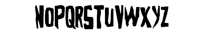 Zakenstein Regular Font LOWERCASE
