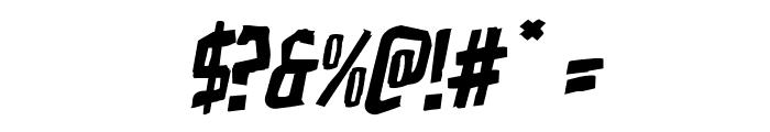 Zakenstein Rotalic Font OTHER CHARS