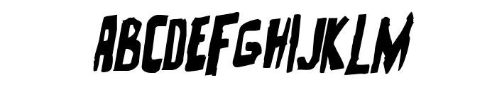 Zakenstein Rotalic Font LOWERCASE
