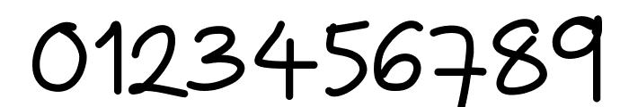 ZakirahsHand Font OTHER CHARS