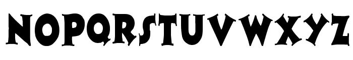Zaleski Condensed Font UPPERCASE