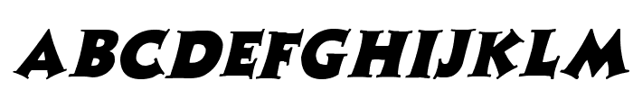 Zaleski Italic Font UPPERCASE