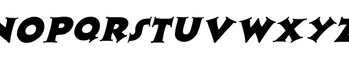 Zaleski Italic Font LOWERCASE