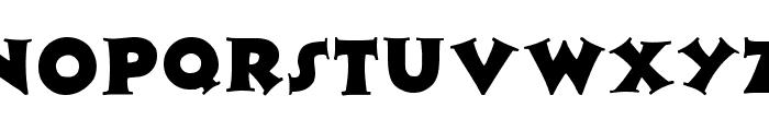 Zaleski Regular Font UPPERCASE