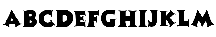 Zaleski Regular Font LOWERCASE