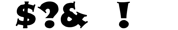 Zaleski Font OTHER CHARS