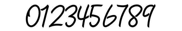 Zallia Free Font OTHER CHARS