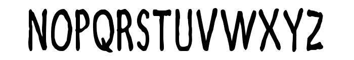 Zamboni Joe Font UPPERCASE